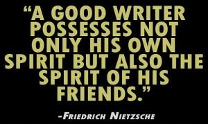 Writer Friends