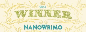 NaNoWriMo Winner 2014